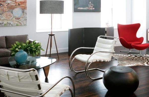 Кресло в комнату: примеры маленьких моделей, фотографии интерьера