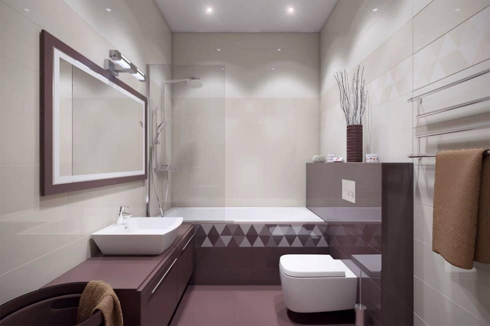 Интерьер ванной комнаты, совмещенной с туалетом - идеи дизайна + видео / vantazer.ru – информационный портал о ремонте, отделке и обустройстве ванных комнат
