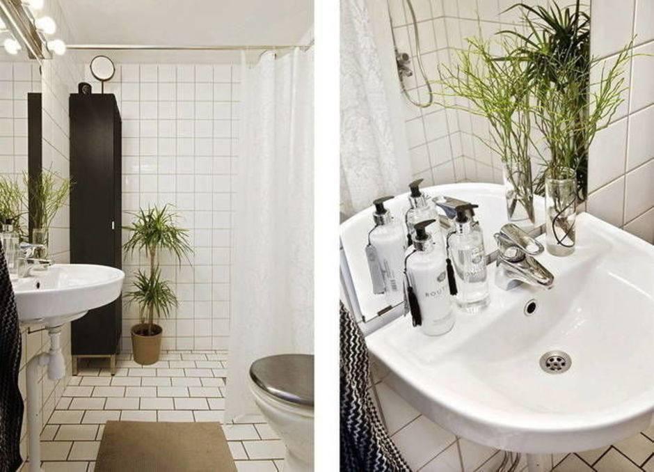 Идеи оформления ванной комнаты в скандинавском стиле