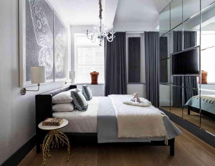 Варианты дизайна интерьера спальни 13 кв. м
