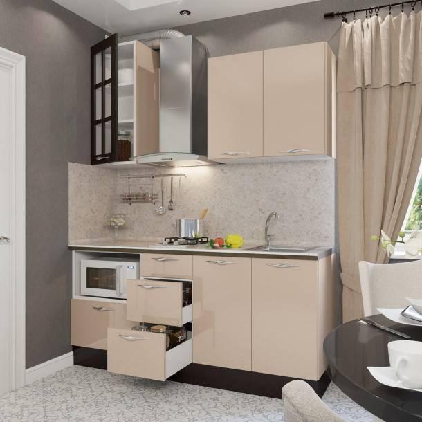 Цвет капучино в интерьере кухни +75 фото примеров дизайна