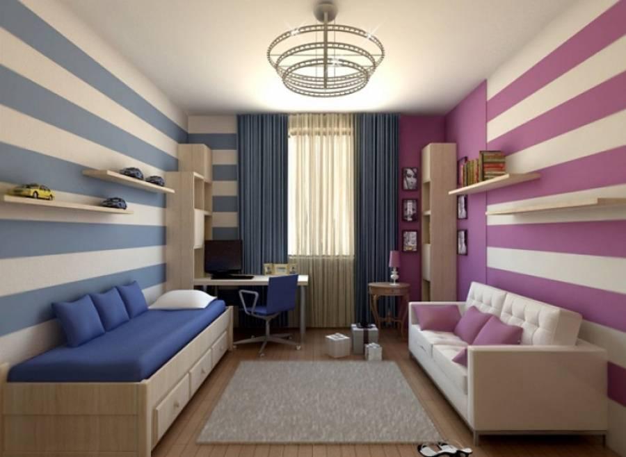 Методы оформления дизайна комнаты для детей площадью 12 кв м