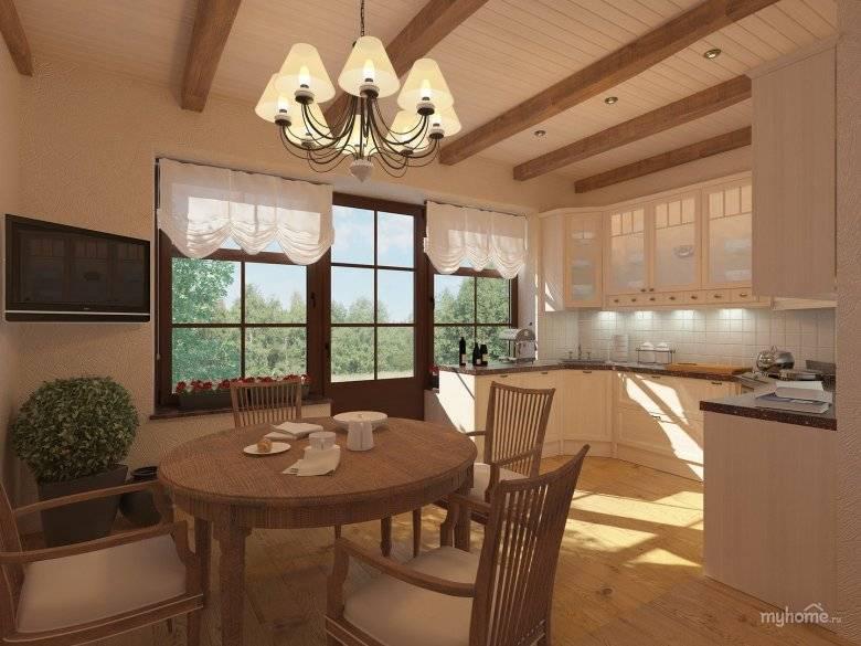 Самые удачные примеры дизайна кухни в частном доме