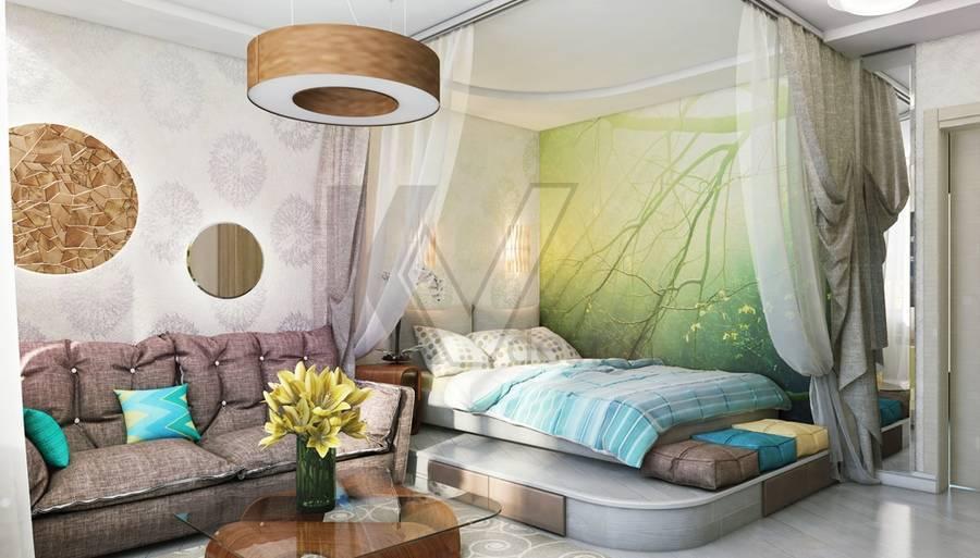Дизайн гостиной спальни 20 кв. м: комната, фото совмещенного интерьера, проект зонирования каким может быть дизайн гостиной-спальни 20 кв. м – дизайн интерьера и ремонт квартиры своими руками