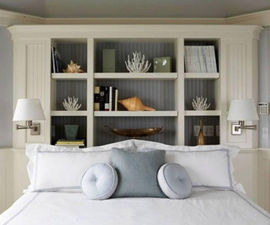 Прикроватные полки в спальню