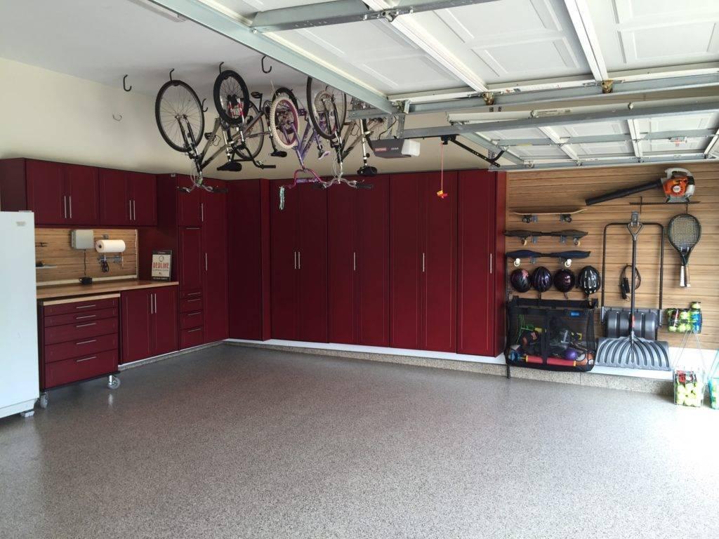 Дизайн гаража внутри частного дома - идеи интерьера с фото