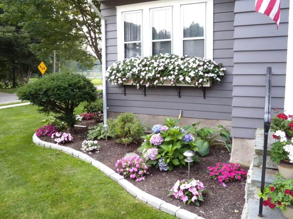 Оформление палисадника перед домом — лучшие идеи!