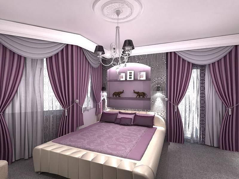 Дизайн гостиной в серо розовых тонах