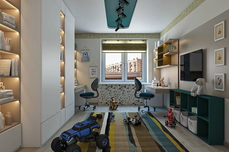 Детская комната для двух мальчиков: 4 шага и 108 фото