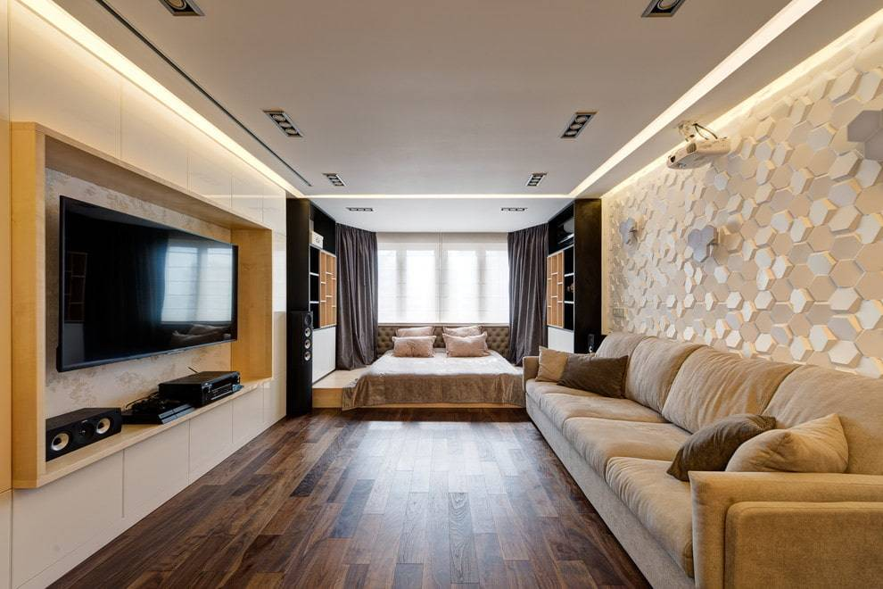75 интересных идей дизайна гостинки: особенности, советы