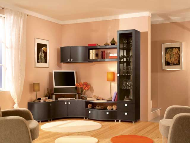 Угловые шкафы в гостиную (36 фото): современные шкафы-витрины, модульная мебель, идеи дизайна