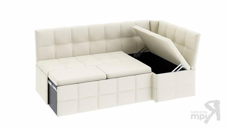 Варианты выбора угловых диванов со спальным местом в интерьер гостиной