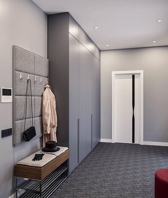 Современный стиль для прихожей комнаты в коридоре