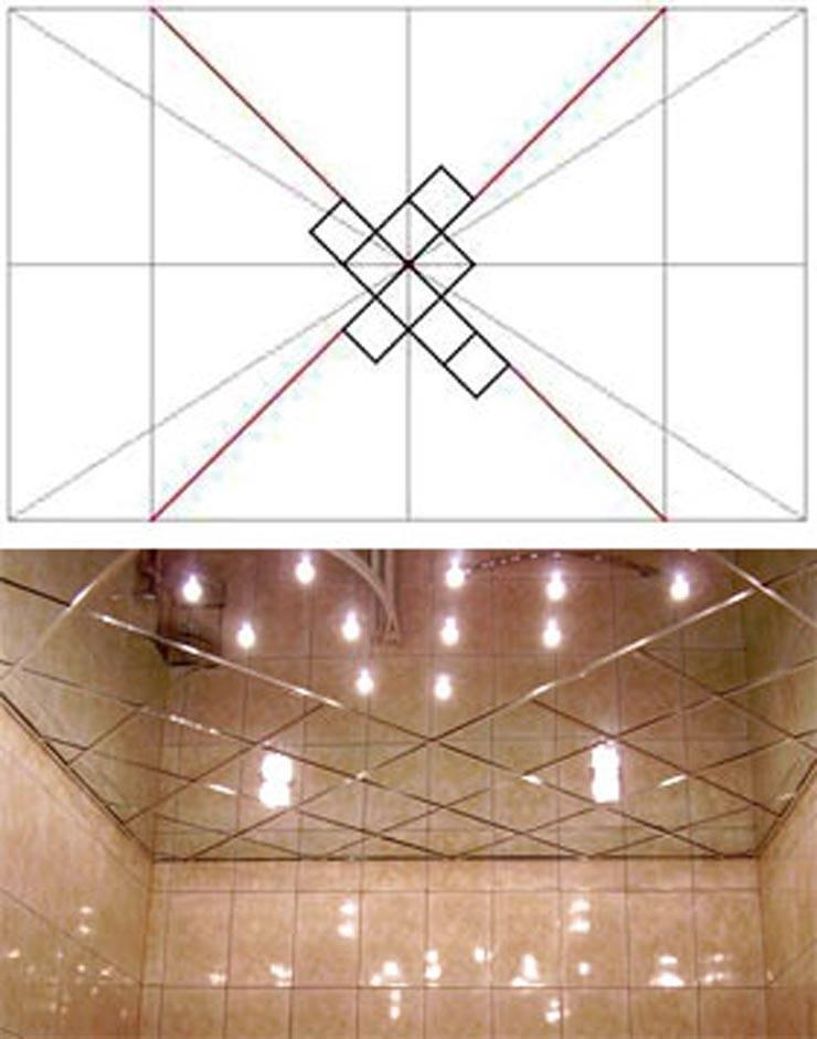 Как легко и быстро обновить потолок? клеим потолочную плитку своими руками