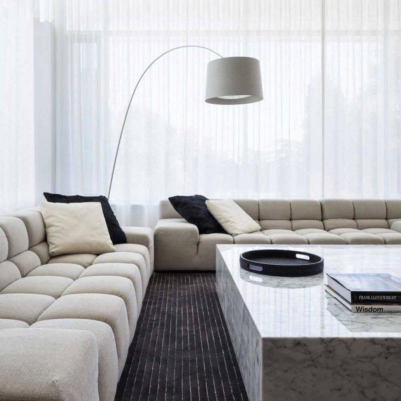 Мебель для гостиной в современном стиле + 115 фото