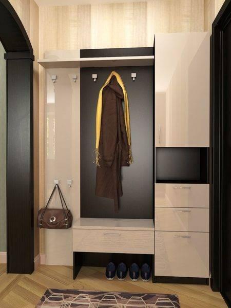 Узкий шкаф в прихожую
