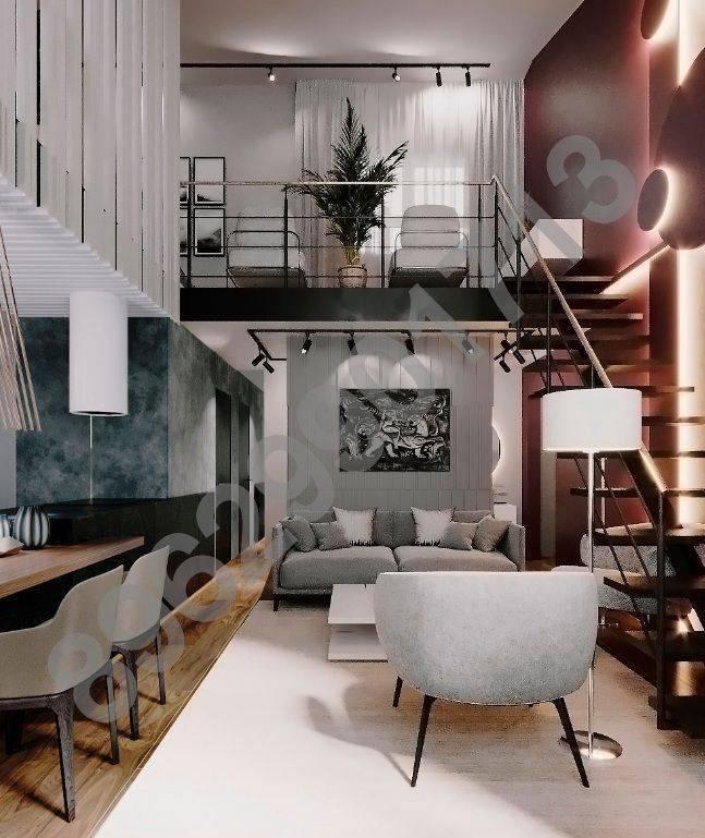 Двухуровневые квартиры: особенности, планировка, дизайн