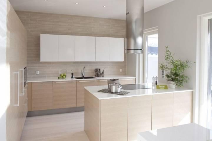 Синяя кухня — морской стиль в современном интерьере + 82 фото