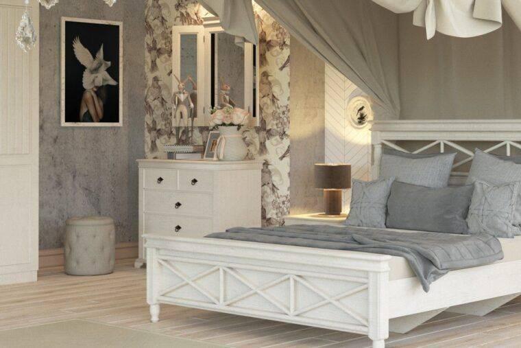 Спальня прованс: 130 фото одного из наиболее популярного дизайнерского решения