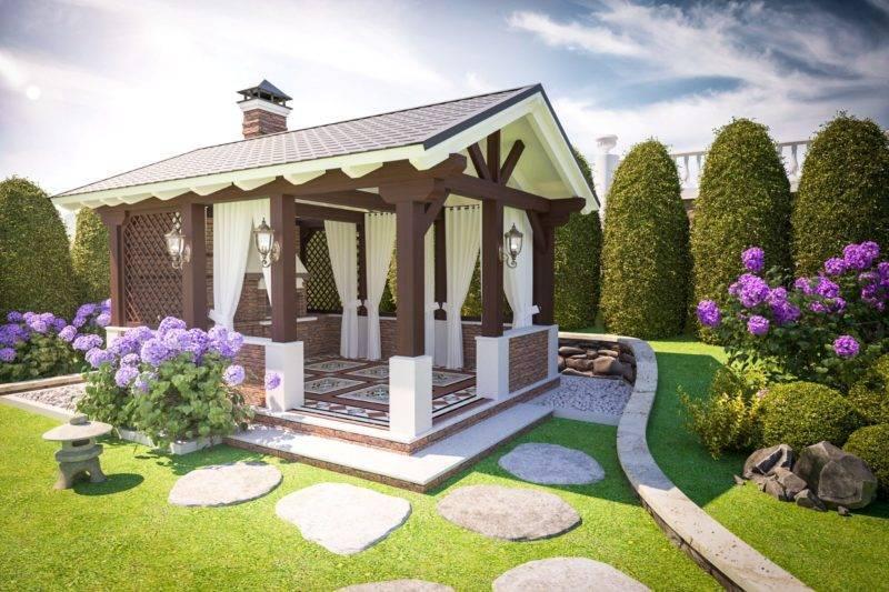 Беседка в саду своими руками: фото, необычные идеи дизайна и стиля