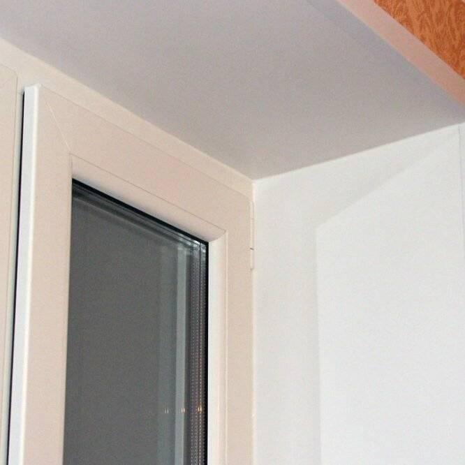 Внутренние откосы на окна: отделка откосов пластиковых окон - 3 способа