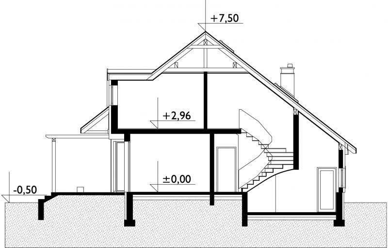 Проекты домов с мансардой: бесплатно чертежи и фото | home-ideas.ru