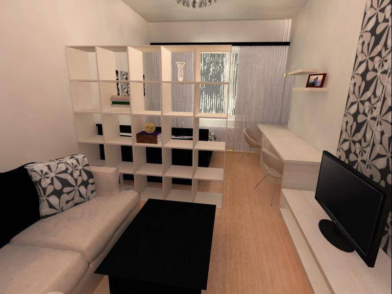 Зонирование комнаты на спальню и гостиную 18 кв.м зонирование комнаты на спальню и гостиную 18 кв.м