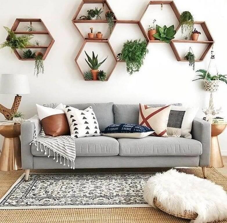 Стены в гостиной — 100 фото красивого дизайна стен в интерьере