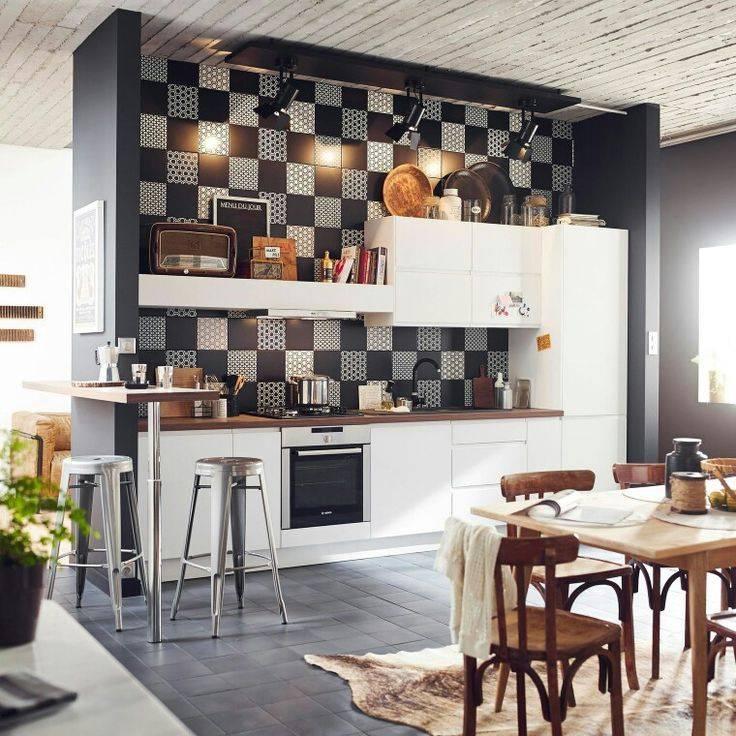 Выбираем подходящий дизайн плитки на кухне