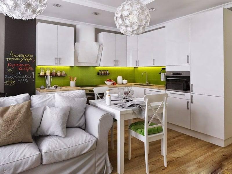 Кухня 16 кв м, варианты зонирования, советы по обустройству, фото