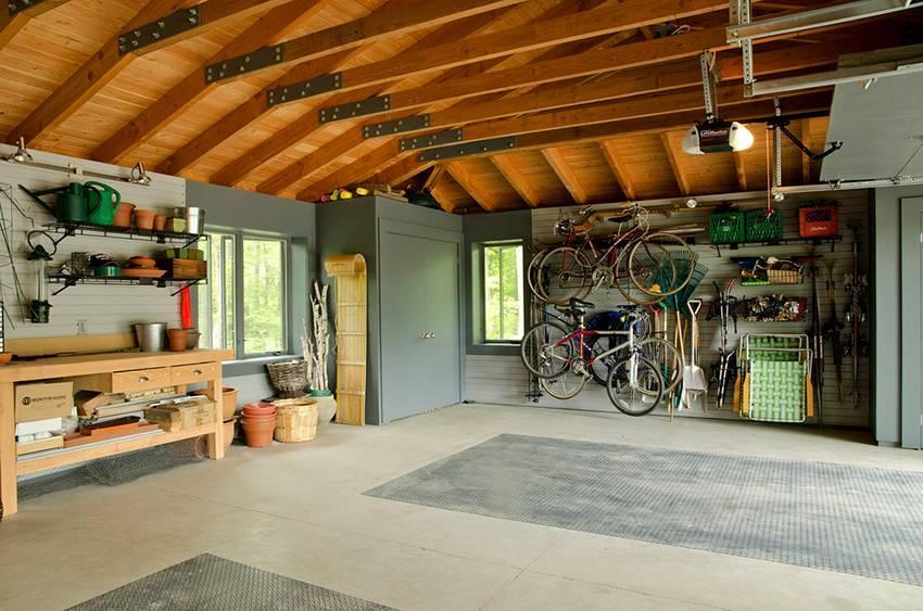 Дизайн настоящего мужского гаража советы, моделирование - 75 фото