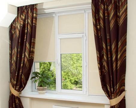 Короткие шторы: обзор моделей длиной до подоконника