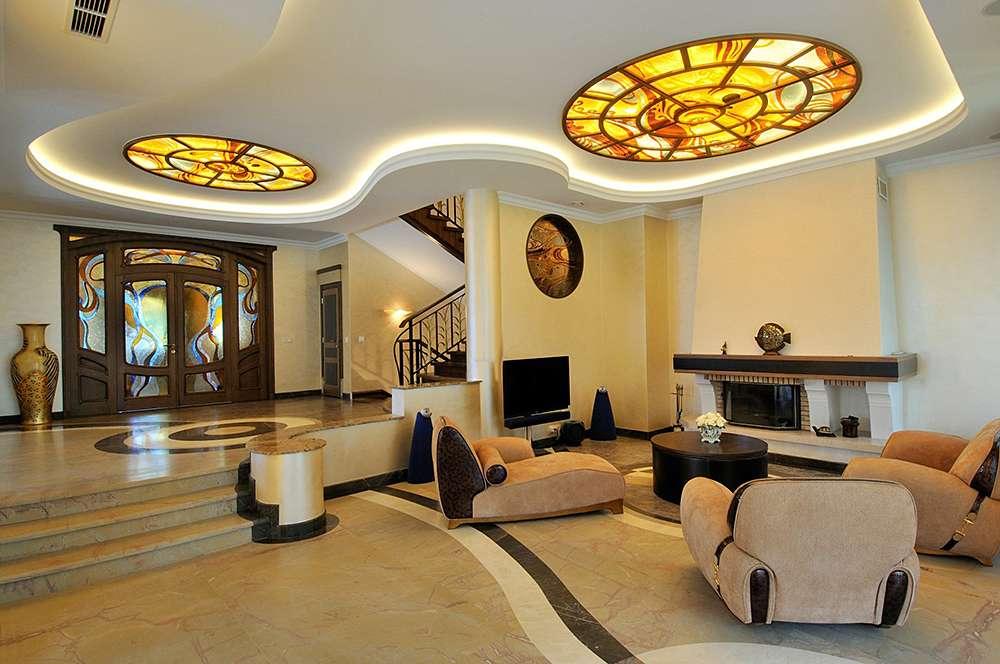 Гостиная в стиле модерн (70 фото): дизайн интерьера зала, варианты отделки в стиле модерн
