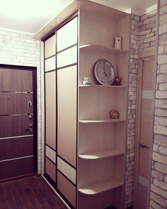 Как выбрать дизайн и конструкцию шкафа в прихожую
