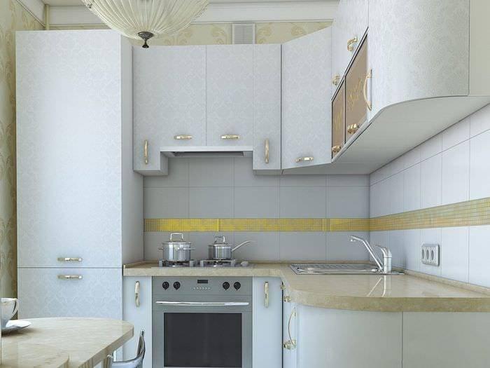 Планировка и дизайн угловой кухни - как удобно разместить мебель и технику (+50 фото)