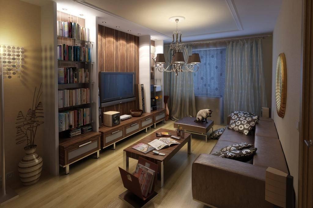 Гостиная 16 кв. м: дизайн в современном стиле, реальные фото в квартире, интерьер, квадратная комната в панельном доме в светлых тонах, расстановка мебели