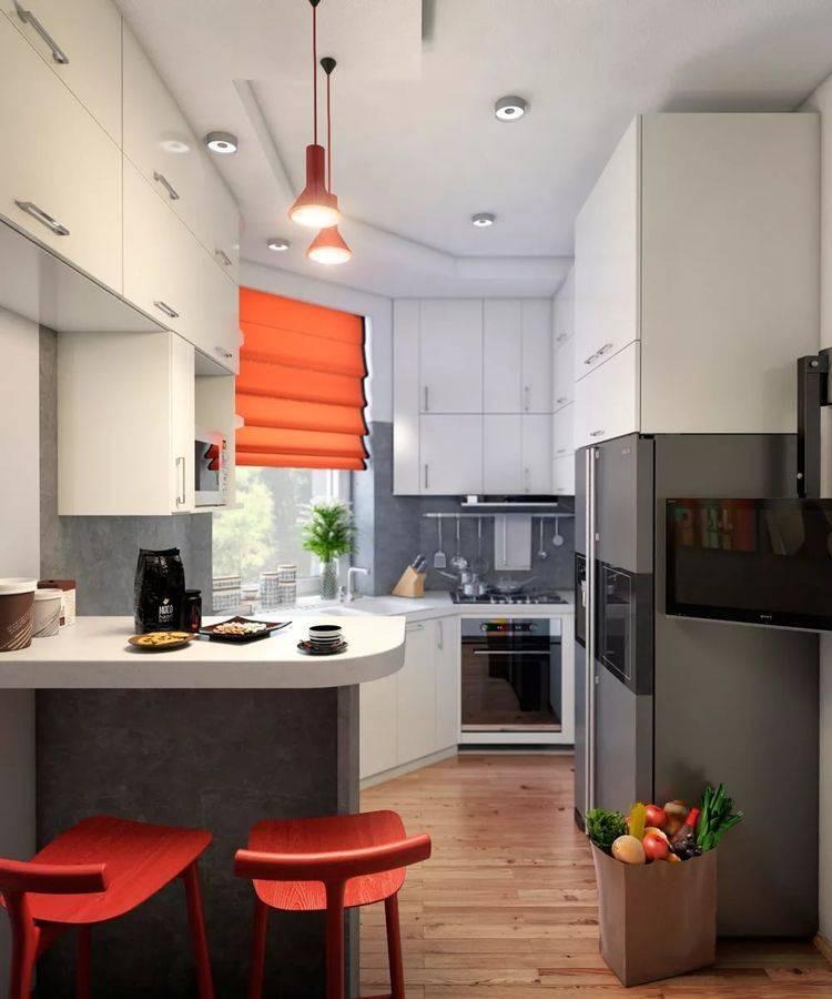 Ремонт кухни 6 кв в хрущевке - как я делал все своими руками (64 фото)
