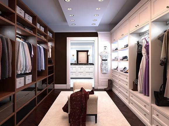 Дизайн-проекты гардеробных комнат (90 фото): маленькие угловые в прихожей, на 1, 2, 3, 4 и 5 кв м в квартире