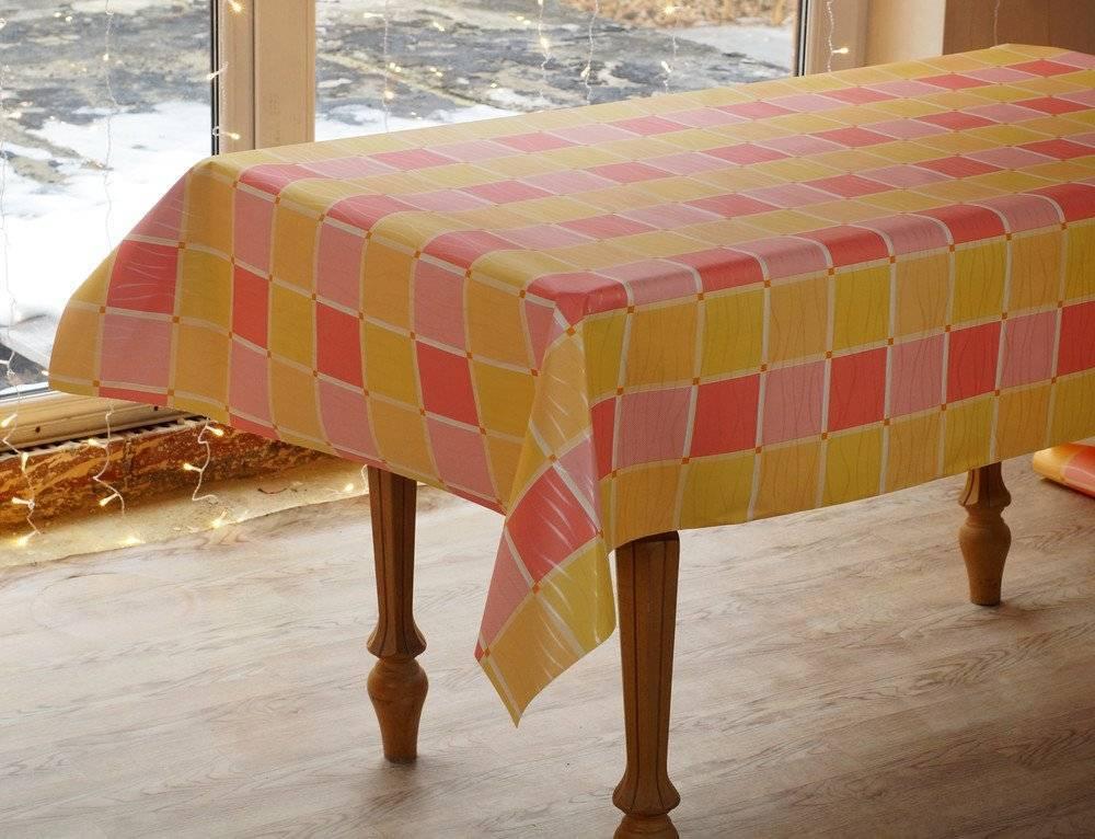 Скатерти и салфетки на стол, разновидности - фото примеров