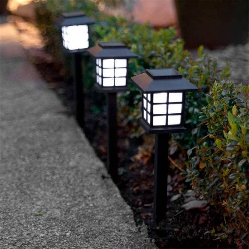 Уличные садовые светильники на солнечных батареях для освещения дома