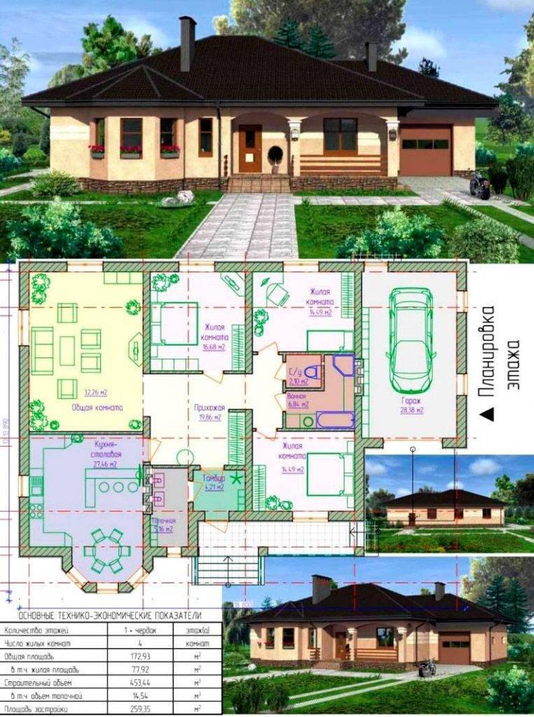 Планировка дома: основные этапы