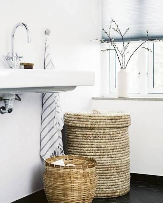 Узкая корзина для белья – как выбрать нужный аксессуар + видео / vantazer.ru – информационный портал о ремонте, отделке и обустройстве ванных комнат