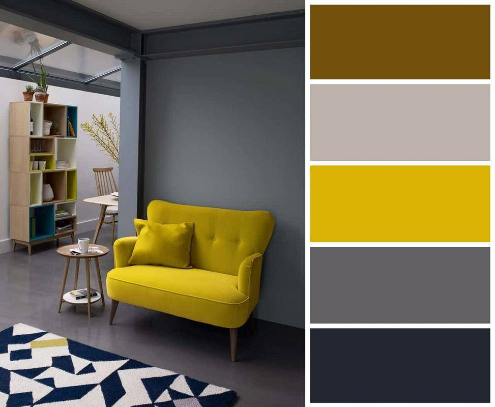 Сочетание серого и коричневого в интерьере (45 фото): серо-коричневый цвет в интерьере спальни и других комнат