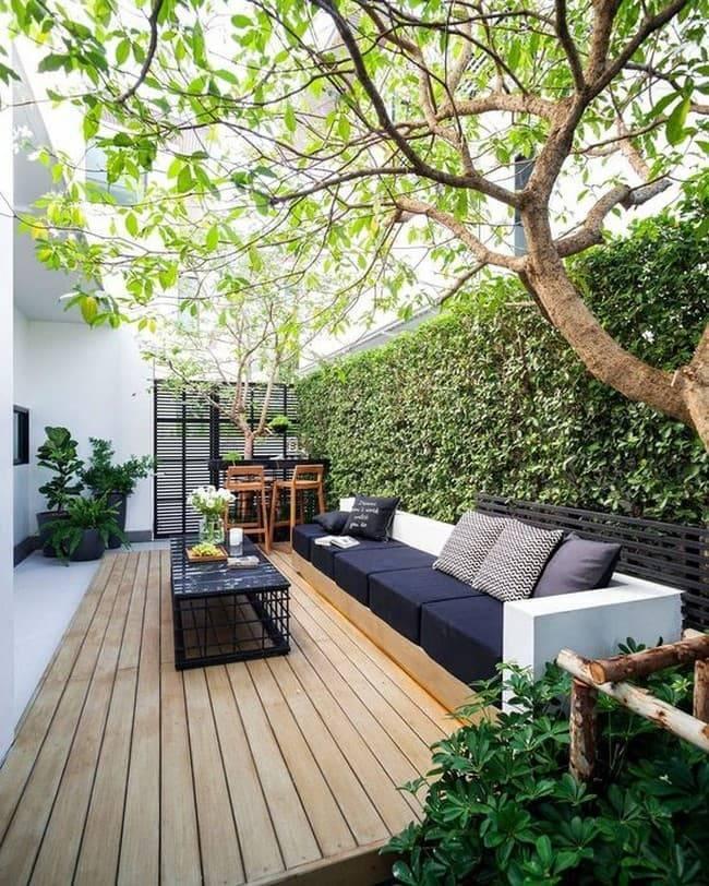 Дизайн двора частного дома: как сделать проект самостоятельно