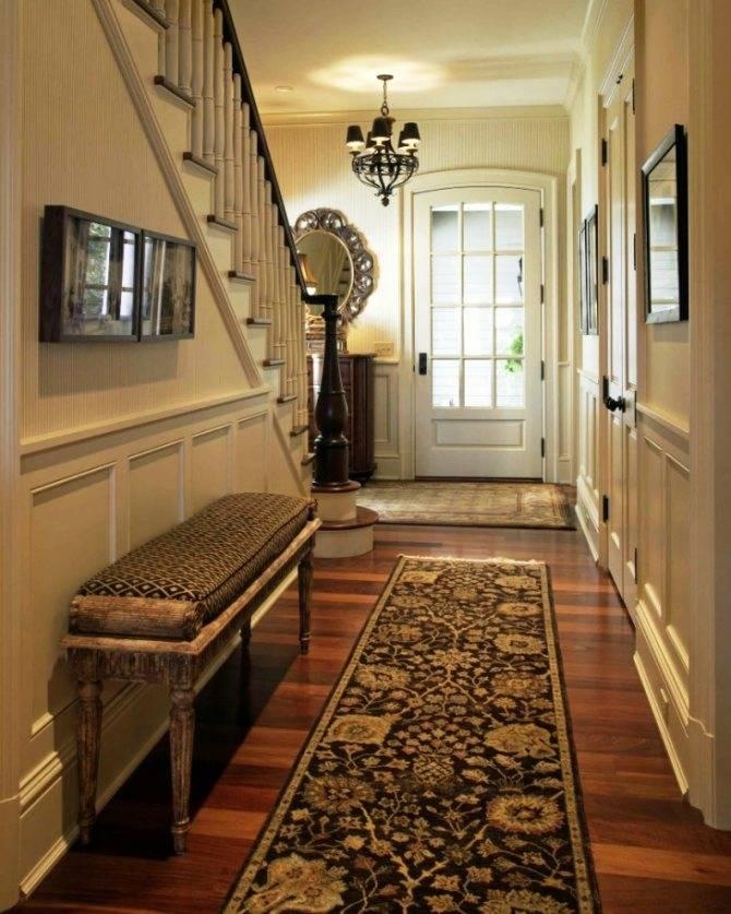Как выбрать ковёр в коридор: каким должен быть ковёр для коридора, виды ковров, критерии выбора.