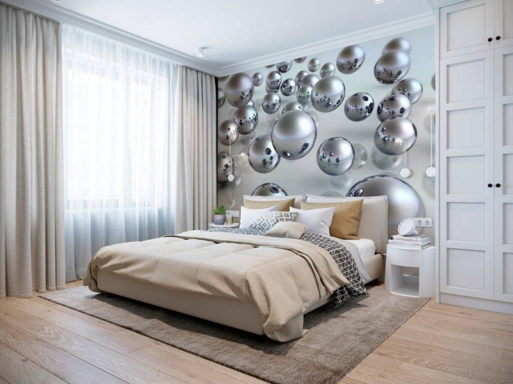 Обои для спальни: 100+ фото модные тенденции 2019 года
