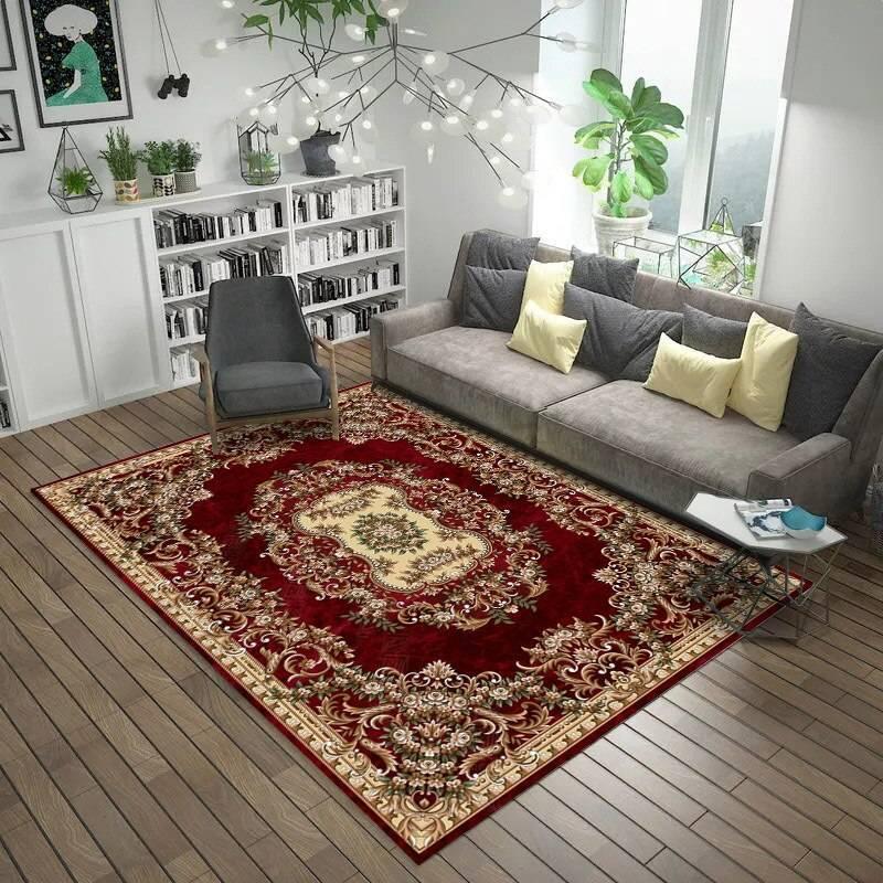 Ковры в современном интерьере: как выбрать правильный ковер для любой комнаты