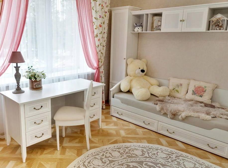 Детская мебель белая, особенности оттенков и правила сочетания