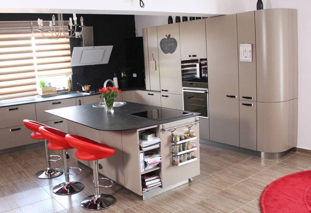 Кухня в коричневом цвете - 140 фото идей сочетаний цвета и оформления!