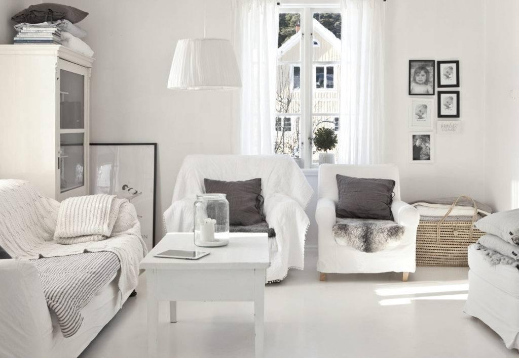 Белый цвет в интерьере - советы мастеров